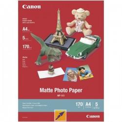 Canon Matte Photo Paper, foto papier, matný, biely, A4, 170 g/m2, 5...