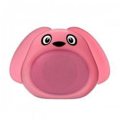 Promate Bluetooth reproduktor Snoopy, Li-Ion, 1.0, 3W, ružový, ,pre...