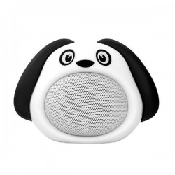 Promate Bluetooth reproduktor Snoopy, Li-Ion, 1.0, 3W, biely, ,pre...