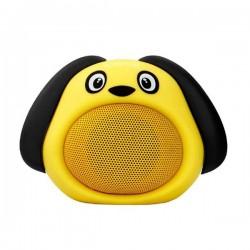 Promate Bluetooth reproduktor Snoopy, Li-Ion, 1.0, 3W, žltý, ,pre...