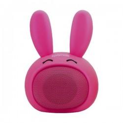 Promate Bluetooth reproduktor Bunny, Li-Ion, 1.0, 3W, ružový, ,pre...