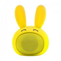 Promate Bluetooth reproduktor Bunny, Li-Ion, 1.0, 3W, žltý, ,pre...