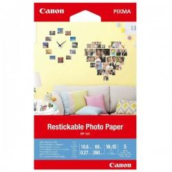 Canon Photo Paper RP-101, foto papier, prelepovateľný typ biely,...