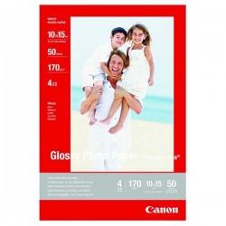 Canon Photo paper glossy, foto papier, lesklý, biely, 10x15cm,...