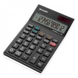 Sharp Kalkulačka EL-128C, šedá-biela, stolový