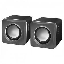 Defender reproduktory SPK-33, 2.0, 5W, šedé, kompaktná veľkosť,...