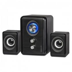 Defender reproduktory V11, 2.1, 11W, čierne, regulácia hlasitosti,...
