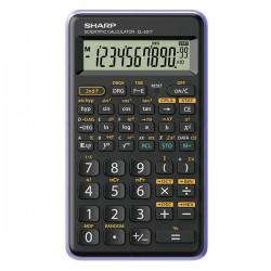Sharp kalkulačka EL-501TVL, fialová, vedecká, desaťmiestna EL501TVL