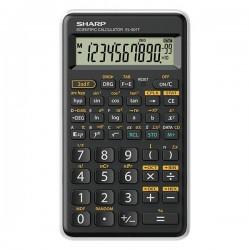 Sharp kalkulačka EL-501TWH, biela, vedecká, desaťmiestna EL501TWH