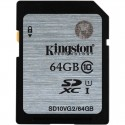 KINGSTON SDXC card 64GB Class10 VG2 SD10VG2/64GB