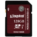 KINGSTON SDXC card 128GB Class10 UHS-I U3 SDA3/128GB