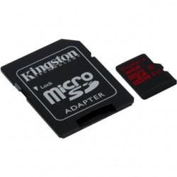 KINGSTON Micro SDHC 32GB UHS-I U3 + adaptér SDCA3/32GB