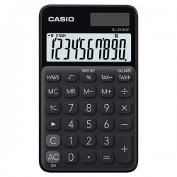 Casio Kalkulačka SL 310 UC BK, čierna, desaťmiestna, duálne napájanie