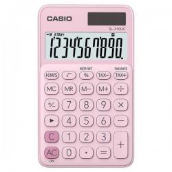Casio Kalkulačka SL 310 UC PK, ružová, desaťmiestna, duálne napájanie