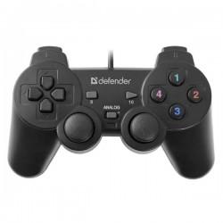 Gamepad Defender Omega, 12tl., USB, čierny, vibračné, Windows R...