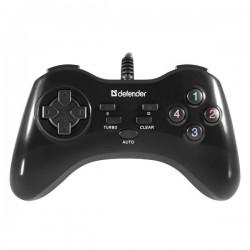 Gamepad Defender Game Master G2, 13tl., USB, čierny, turbo režim,...