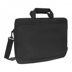 """Taška na notebook 17"""", Monte, čierna z polyesteru, Defender 26065"""