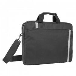 "Taška na notebook 16"", Shiny, čierna z polyesteru, s..."