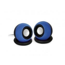 Gembird Stereo Speakers 2.0 System, 2x3W, blue SPK-AC-B
