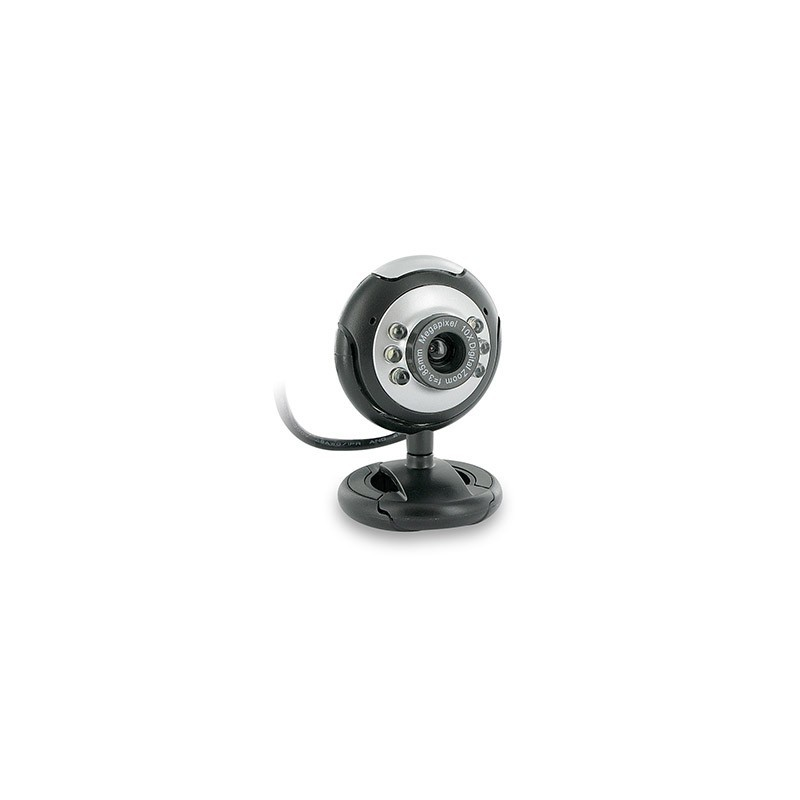 4World Internetová kamera 2.0MP USB 2.0 s LED podsvietením + mikrofon, univerz 07610
