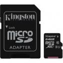 Kingston Micro SDXC Card 64GB G2 UHS-I SDC10G2/64GB