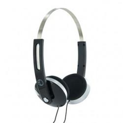 4World Stereofonické slúchadlá, s pohodlnými náušníky, 1.5m, čierny 08247