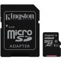 Kingston Micro SDXC Card 128GB Class10 UHS-I SDC10G2/128GB
