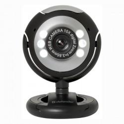 Defender Web kamera C-110, 0.3 Mpix, USB 2.0, čierno-šedá, pre...