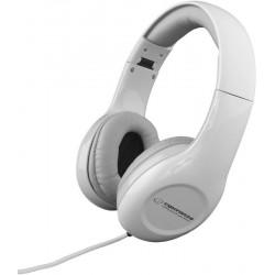 Esperanza EH138W SOUL Stereo slúchadlá, skladacie, ovl. hlasitosti, 3m, biele EH138W - 5901299903735