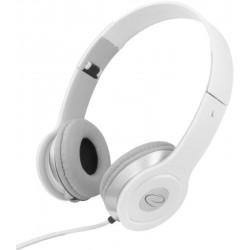 Esperanza EH145W TECHNO Stereo slúchadlá, skladacie, ovl. hlasitosti, 3m, biele EH145W - 5901299903926