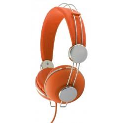 Esperanza EH149O MACAU Stereo slúchadlá, ovl. hlasitosti, 3m, oranžové EH149O - 5901299908051
