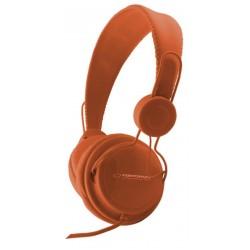 Esperanza EH148O SENSATION Stereo slúchadlá, ovl. hlasitosti, 3m, oranžové EH148O - 5901299908396