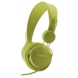Esperanza EH148G SENSATION Stereo slúchadlá, ovl. hlasitosti, 3m, zelené EH148G - 5901299908020