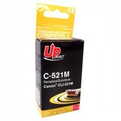UPrint kompatibil. ink s CLI521M, magenta, 450str., 10ml, C-521M, s...