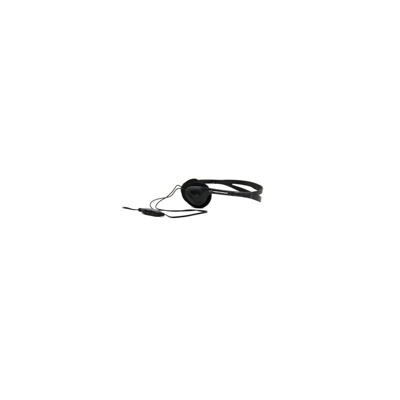 Esperanza EH119 DISCO Stereo slúchadlá, ovl. hlasitosti, 2.5m, čierne EH119 - 5905784768922