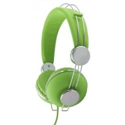 Esperanza EH149G MACAU Stereo slúchadlá, ovl. hlasitosti, 3m, zelené EH149G - 5901299908075