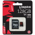 KINGSTON Micro SDXC 128GB UHS-I U3 + adaptér SDCA3/128GB