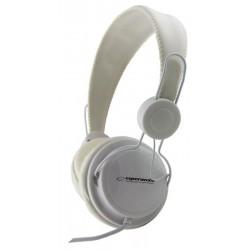 Esperanza EH148W SENSATION Stereo slúchadlá, ovl. hlasitosti, 3m, biele EH148W - 5901299908037