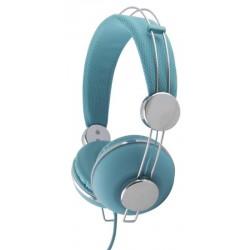 Esperanza EH149T MACAU Stereo slúchadlá, ovl. hlasitosti, 3m, tyrkysové EH149T - 5901299908402