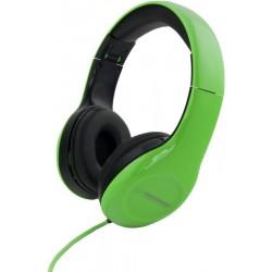 Esperanza EH138G SOUL Stereo slúchadlá, skladacie, ovl. hlasitosti, 3m, zelené EH138G - 5901299903759