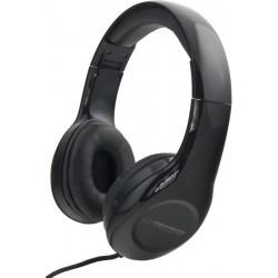 Esperanza EH138K SOUL Stereo slúchadlá, skladacie, ovl. hlasitosti, 3m, čierne EH138K - 5901299903742