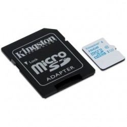 Kingston Micro SDHC Card 16GB Class10 UHS-I U3 s A SDCAC/16GB