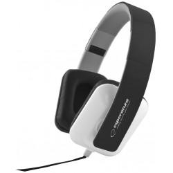 Esperanza EH137K JAZZ Stereo slúchadlá, skladacie, ovl. hlasitosti, 3m, čierne EH137K - 5901299903704