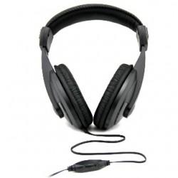 Esperanza EH120 REGGAE Stereo slúchadlá, ovl. hlasitosti, 2m, čierne EH120 - 5905784768939