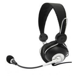 Esperanza EH117 CANCAN Stereo slúchadlá s mikrofónom, ovl. hlasitosti, čierne EH117 - 5905784768007