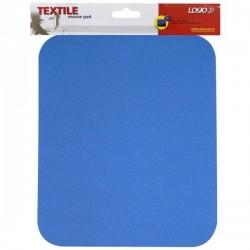 Podložka pod myš, mäkká, modrá, 24x22x0,3 cm, Logo 50130
