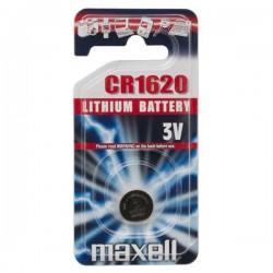 Batéria líthiová, gombíková, CR1620, 3V, Maxell, blister, 1-pack CR...