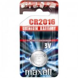 Batéria líthiová, CR2016, 3V, Maxell, blister, 1-pack CR 2016