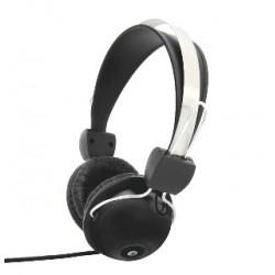 Esperanza EH108 VIVACE Stereo slúchadlá s mikrofónom, ovl. hlasitosti, čierne EH108 - 5905784767918