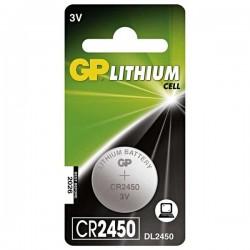 Batéria líthiová, CR2450, 3V, GP, blister, 1-pack B15851